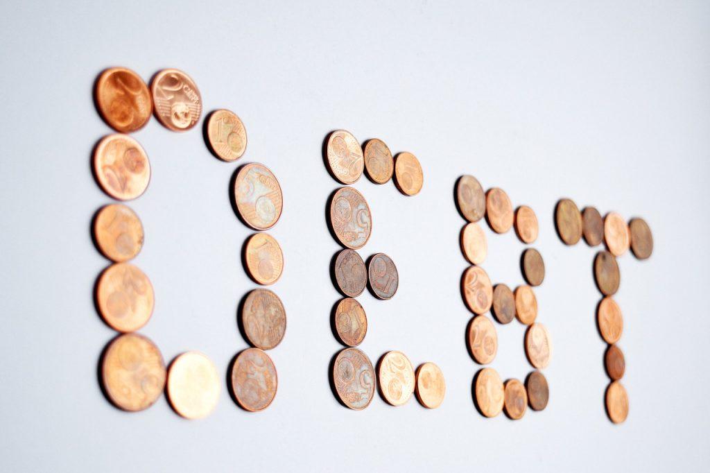 debt, coins, euro
